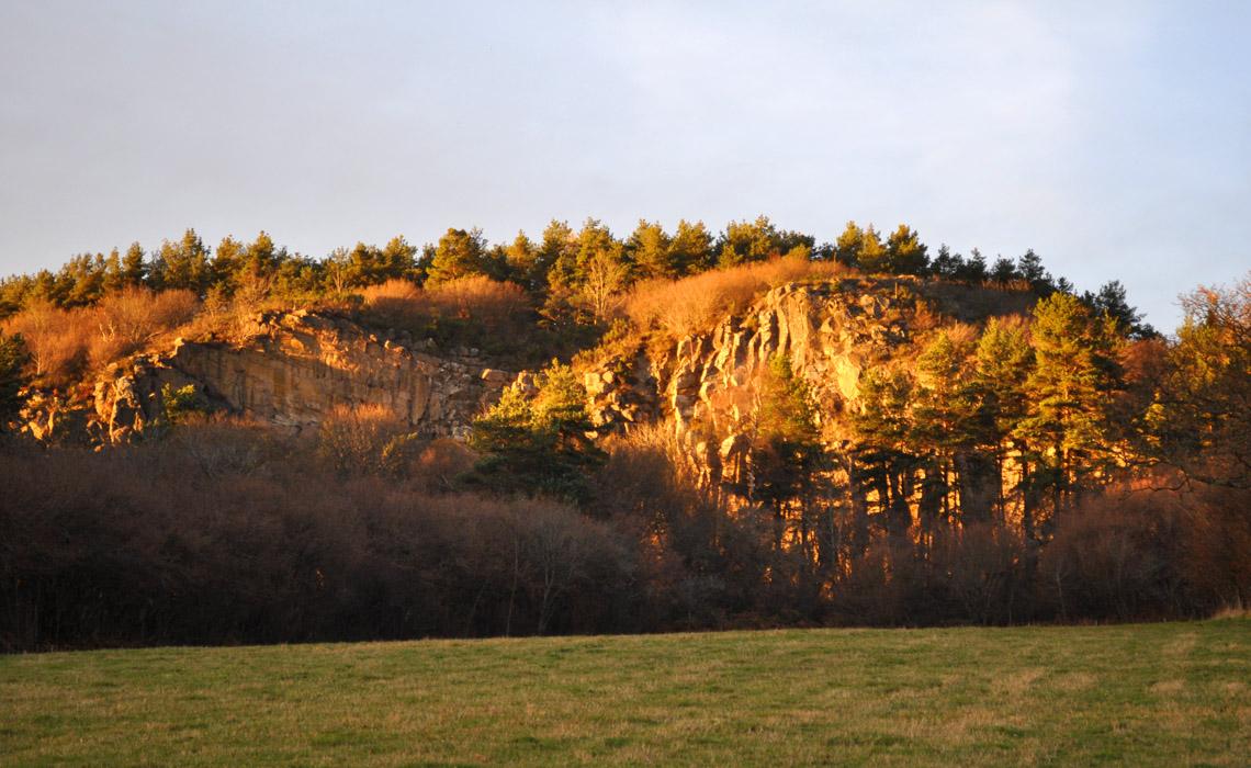 La roche de Sauterre