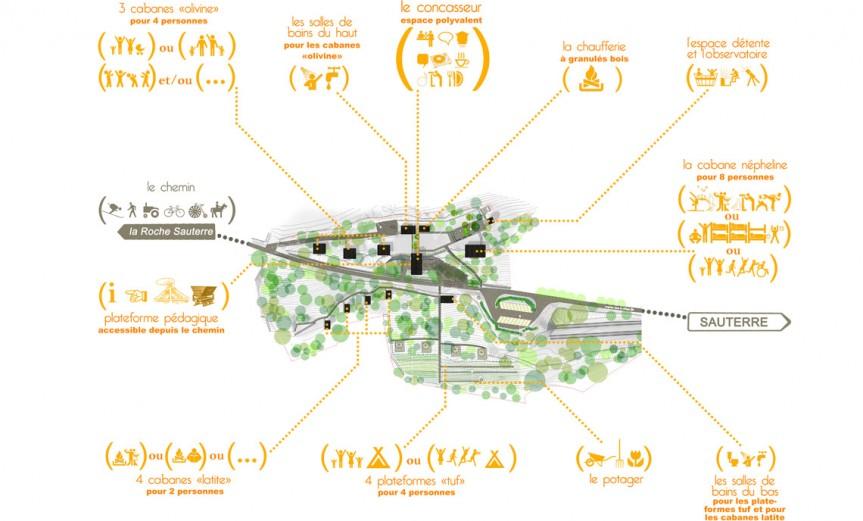 plan masse le bois basalte